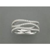 Ring 585Wg Bril. 0,61ct TW/SI