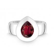 Ring 925Ag Granat