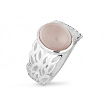 Ring 925Ag Rosa Quarz