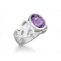 Ring 925Ag Amethyst