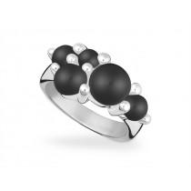 Ring 925Ag Onyx
