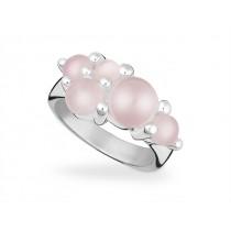Ring 925Ag Rosa Quarz