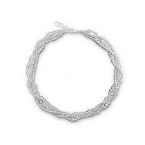Halskette Kugel 925Ag