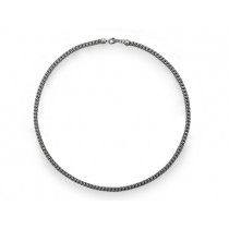 Halskette Zopf 925Ag