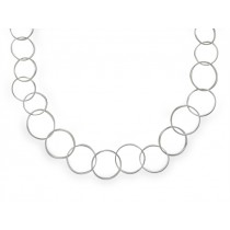 Halskette Kreis 925Ag