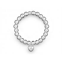 Armband Herz 925Ag