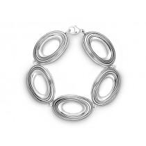 Armband oval 925Ag