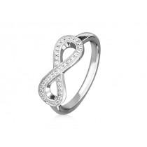 Ring 585Wg Bril. 0,17ct TW/SI