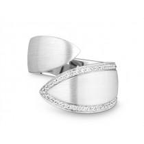 Ring 750Wg Bril. 0,20ct TW/SI