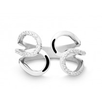 Ring 585Wg Bril. 0,30ct TW/SI