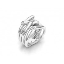 Ring 750Wg Bril. 0,15ct TW/SI