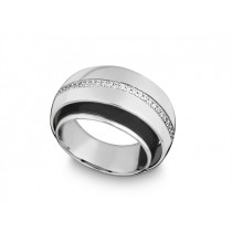 Ring 585Wg Bril. 0,15ct TW/SI