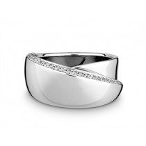 Ring 750Wg Bril. 0,20ct TW/SI