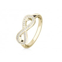 Ring 750Gg Bril. 0,17ct TW/SI