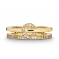 Ring 585Gg Bril. 0,18ct TW/SI