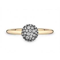 Ring 750Gg Bril. 0,25ct TW/SI