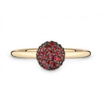 Ring 750Gg Granat