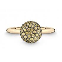 Ring 750Gg Saphir gelb