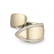 Ring 750Gg Bril. 0,20ct TW/SI