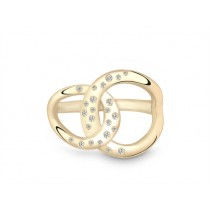 Ring 585Gg Bril. 0,19ct TW/SI