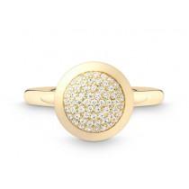 Ring Kreis 750Gg Bril. 0,28ct TW/SI