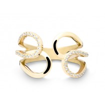 Ring 750Gg Bril. 0,30ct TW/SI