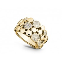 Ring 585Gg Bril. 0,43ct TW/SI