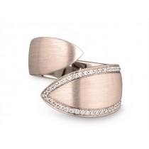 Ring 585Rg Bril. 0,20ct TW/SI