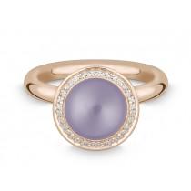 Ring 585Rg Bril. 0,16ct TW/SI Amethyst