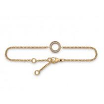 Armband 750Rg Bril. 0,10ct TW/SI